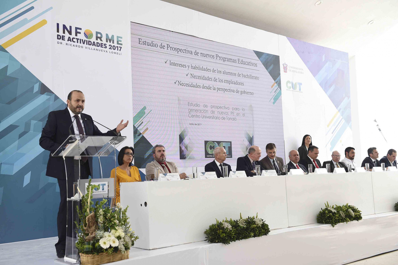 CUTONALA es baluarte en dos políticas institucionales de esta institución: la creación de nueva oferta académica y el Programa Universitario Integral de Transición Energética