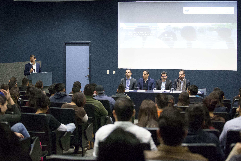 Inauguración del I Coloquio de Políticas Públicas para el Bienestar de la Juventud