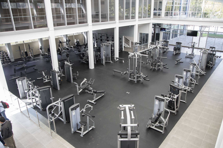 Cucea cuenta con gimnasio de primer nivel universidad de for Gimnasio del centro