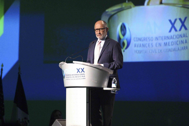 El jurisconsulto dictó la conferencia en el  XX Congreso Internacional de Avances en Medicina