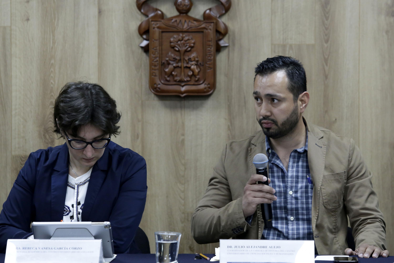 Doctor Julio Alejandre Alejo, coordinador de la carrera de Historia del Centro Universitario de Ciencias Sociales y Humanidades.