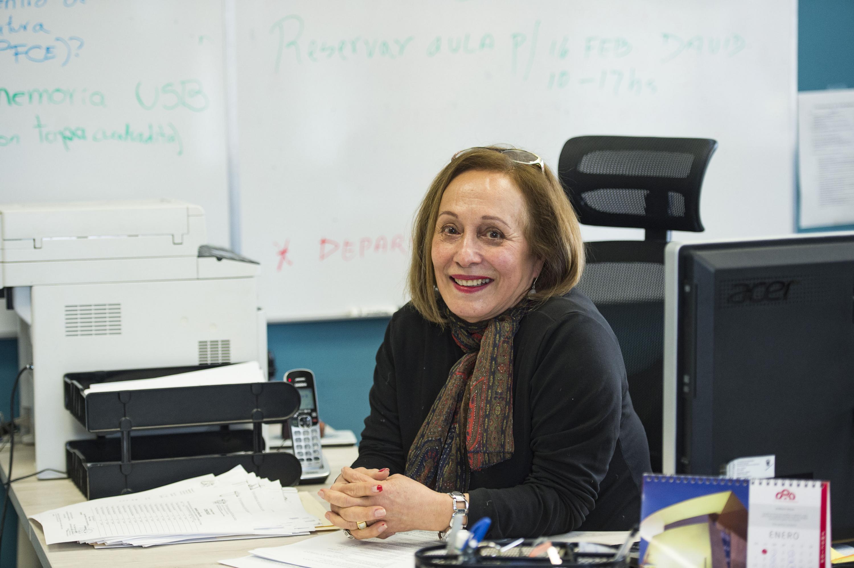 Doctora Rosa María Spinoso Arcocha, Jefa del Departamento de Humanidades, Artes y Culturas del Centro Universitario de los Lagos.