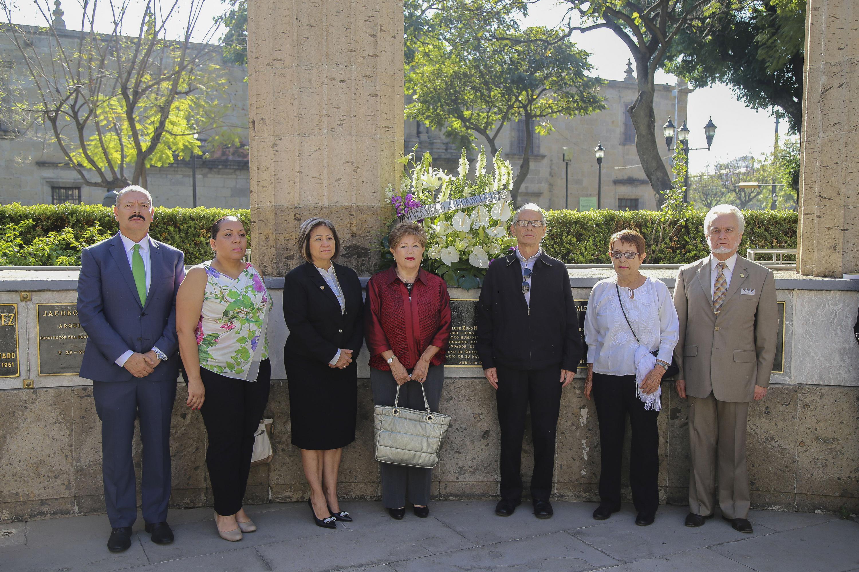Los restos de Guadalupe Zuno estan en la rotonda de los jaliscienses ilustres