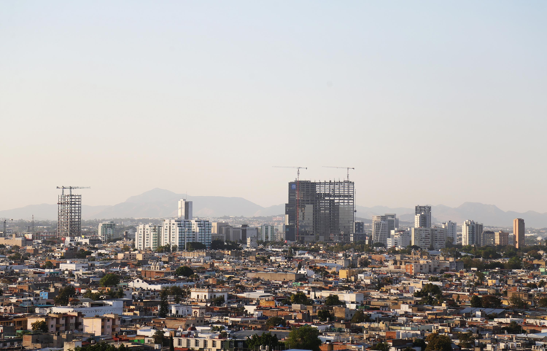 Vista panorámica de uno de los sectores de la zona metropolitana de Guadalajara.