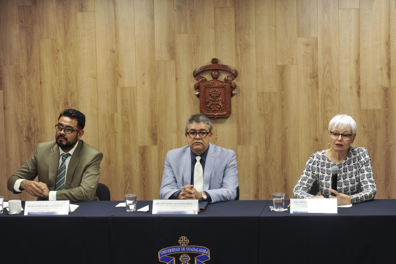 Rueda de prensa para dar a conocer los efectos del calentamiento global en Jalisco