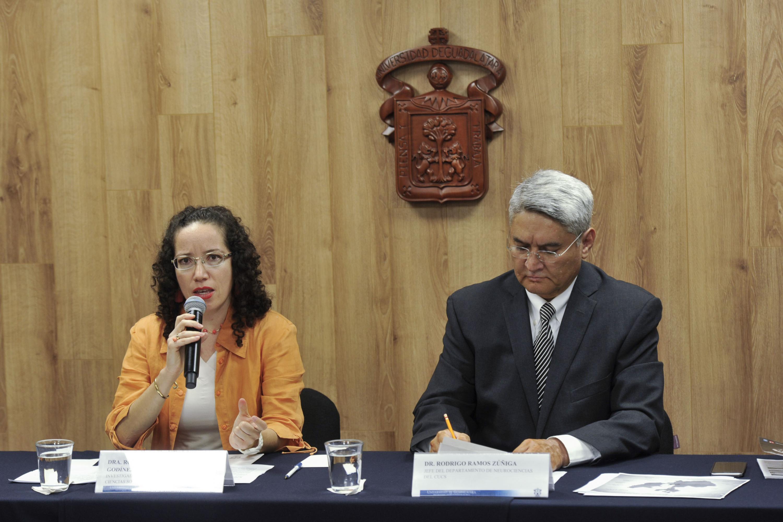 Doctora Rosa Elizabeth Sevilla Godínez, investigadora del Departamento de Ciencias Sociales, del Centro Universitario de Ciencias de la Salud (CUCS) de la UdeG.