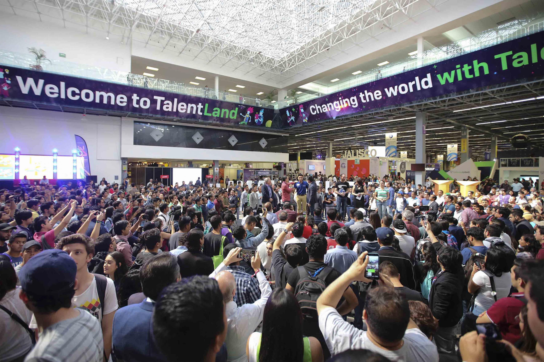 Ceremonia inaugural de la primera edición de Jalisco Talent Land, con sede en Expo Guadalajara.