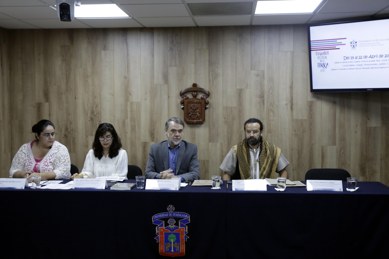 Conferencia de prensa para anunciar el  2do Festival de la Tierra (2018), que tendrá lugar del 19 al 22 de abril