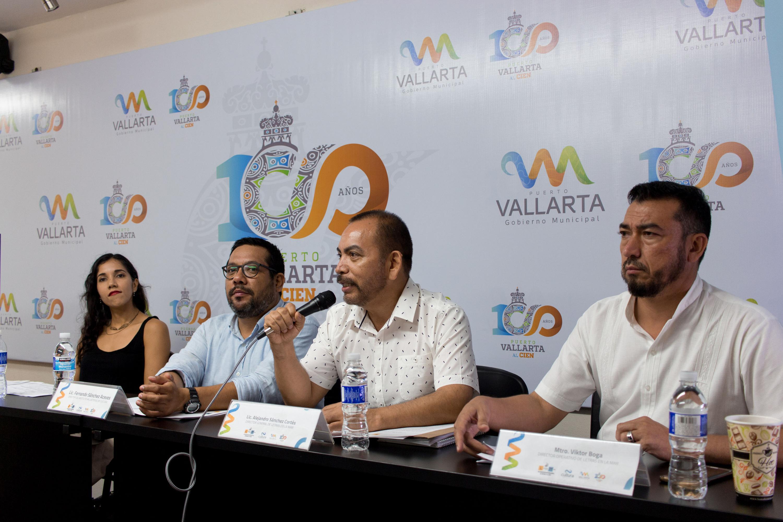 Lic. Alejandro Sanchez Cortes anuncio las actividades del evento