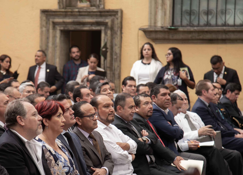 El evento se realizo en uno de los patios del Antiguo Hospital y asistieron autoridades e invitados especiales