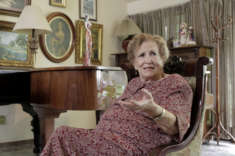 Leonor Montijo Beraud en su residencia en Hermosillo Sonora