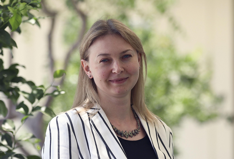 Inna Artemova, investigadora de UdeGVirtual y profesora de ruso.