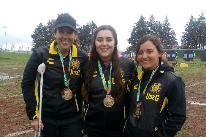 Tres estudiantes de la UDG que ganaron medalla en la UNIVERSIADA NACIONAL