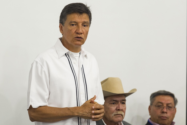 Doctor Jorge Galindo García, Director de la División de Ciencias Veterinarias del CUCBA, haciendo uso de la palabra.