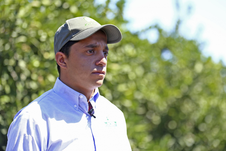 Agricultor de San Martín Hidalgo, en entrevista.