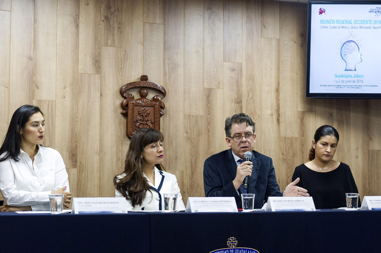 Rueda de prensa convocada por representantes del Antiguo Hospital Civil de Guadalajara -Fray Antonio Alcalde-.