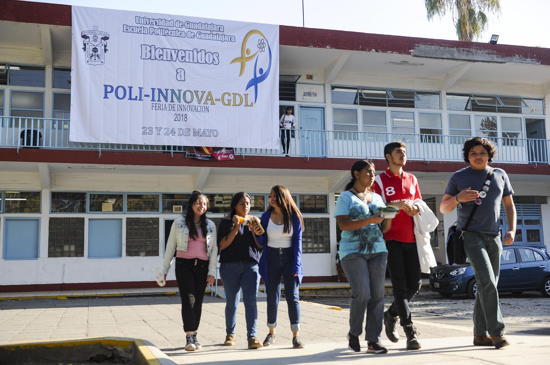 Instalaciones de la Escuela Politécnica de Guadalajara sede de POLI-INNOVA-GDL 2018