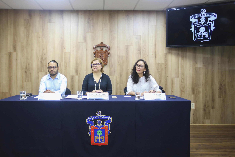 Rueda de prensa para invitar a inscribirse en la maestría en Periodismo Digital de UDGVirtual
