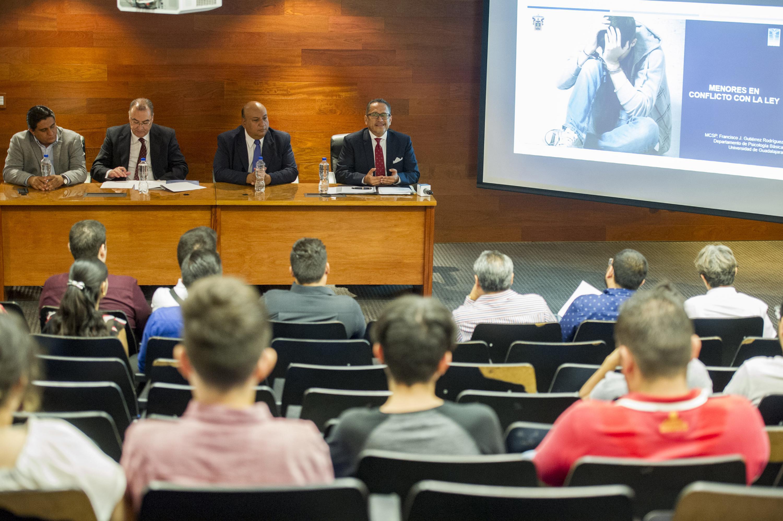 """Conferencia """"Menores en conflicto con la ley"""" en el CUCS"""