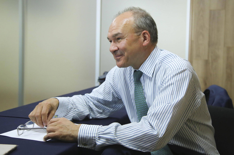 Tom Hockaday, consultor de transferencia de tecnología e innovación.