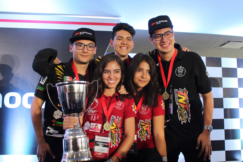 Ganadores de la competencia nacional Fórmula 1 In Schools.