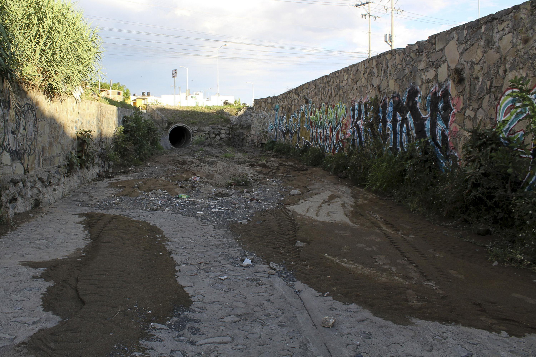 El canal de aguas visto desde su interior
