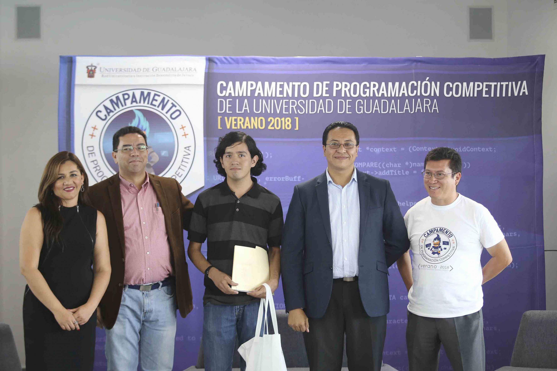 Estudiante Luis Chacón, de la Universidad Nacional Autónoma de México,