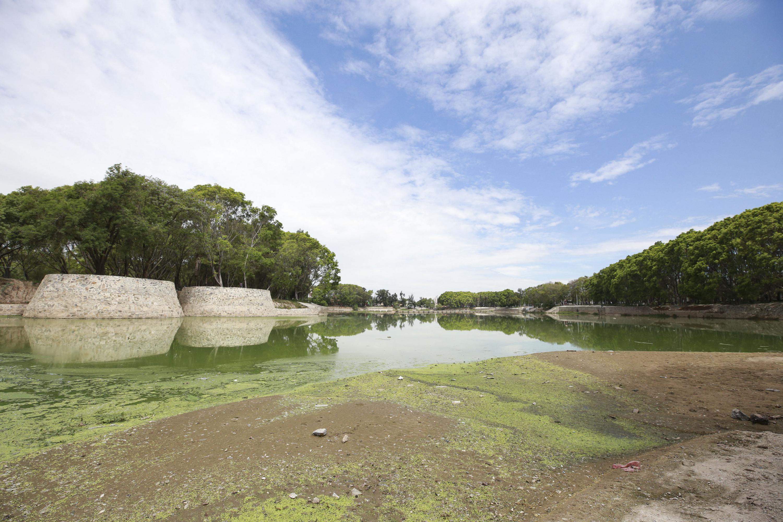 Cuerpo de agua del Parque de la Liberación