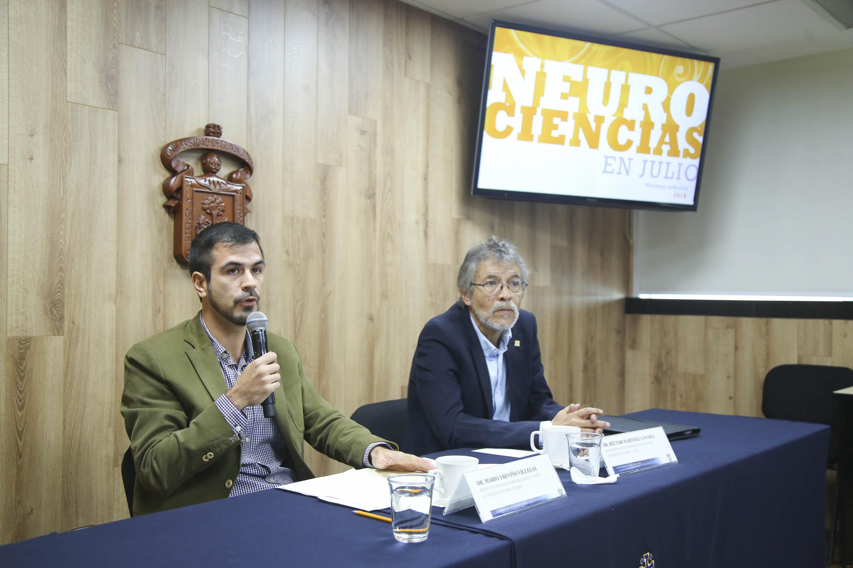 """Rueda de prensa para anunciar la novena edición de """"Neurociencias en Julio"""" a efectuarse del 16 al 20 de julio"""