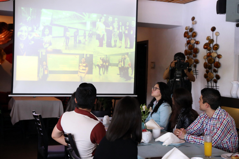 Presentación por parte de la UdeG, de los resultados de investigaciones sobre actividad física, durante reunión internacional.