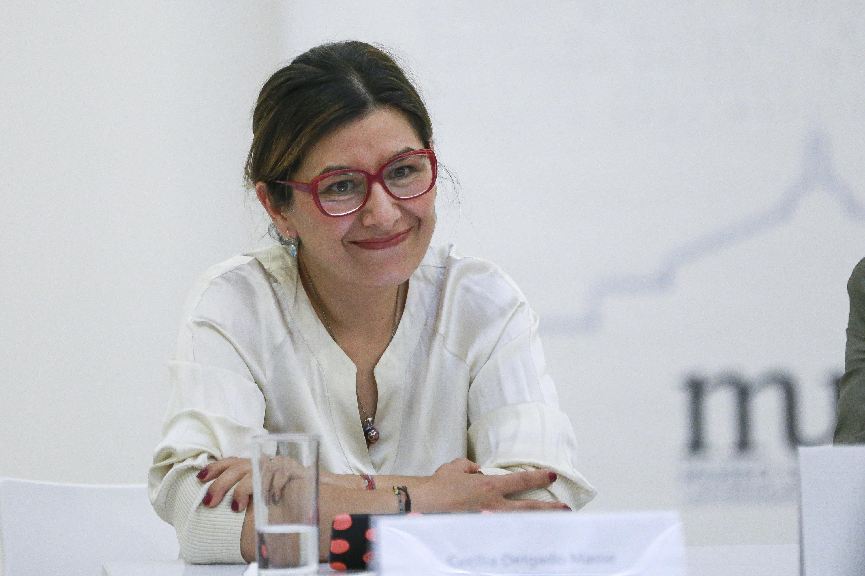 Licenciada Laura Ayala Castellanos, Coordinadora de Exposiciones y Educación del museo.