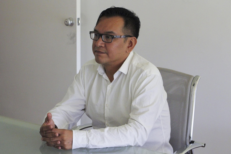 Doctor Rodrigo César León Hernández de la Facultad de Enfermería de la Universidad Autónoma de Tamaulipas.
