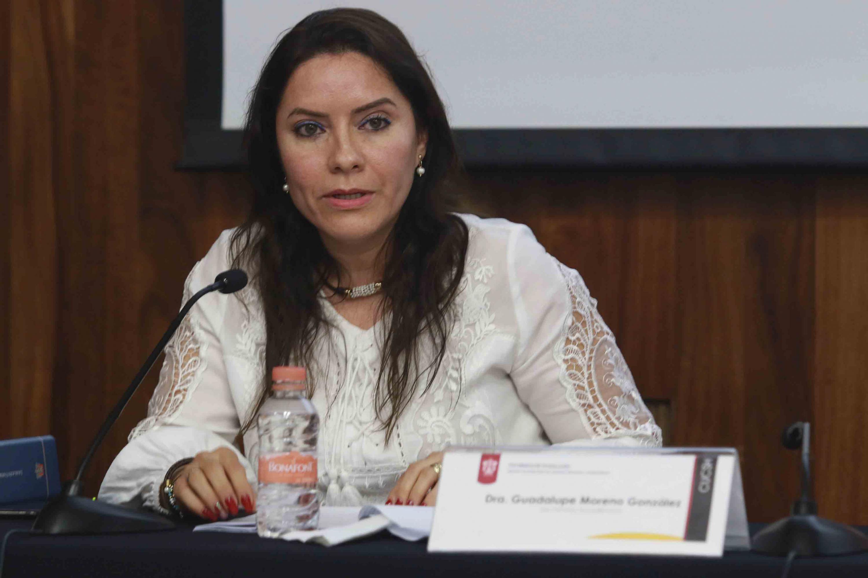 La Secretaria Académica del CUCSH es la doctora María Guadalupe Moreno González