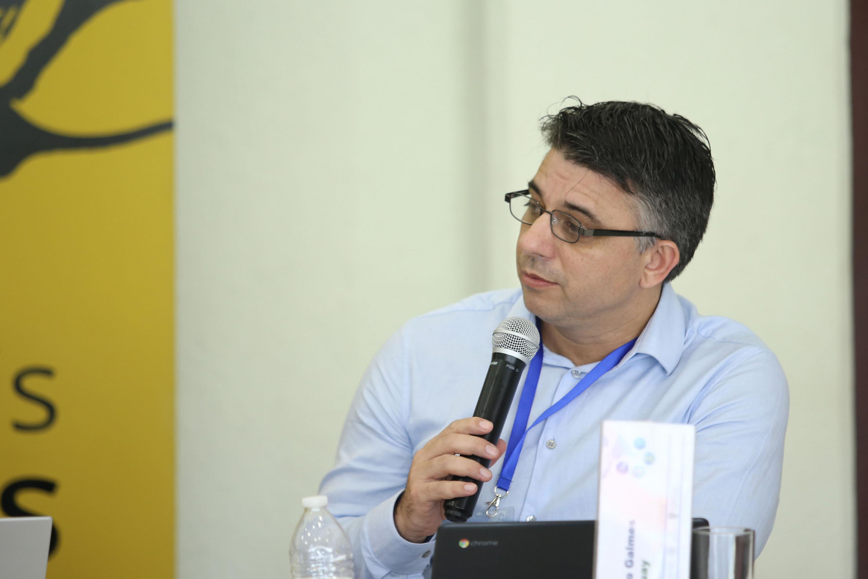 Habló al microfono El doctor Eber Omar Betanzos Torres es El Subsecretario de la Función Pública de México