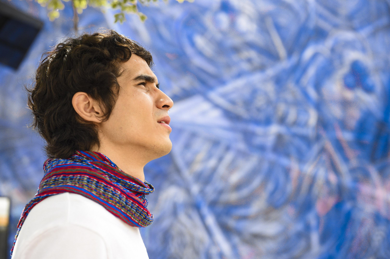 Sergio Olivares Montes, egresado de la licenciatura en Música del Centro Universitario de Arte, Arquitectura y Diseño (CUAAD),