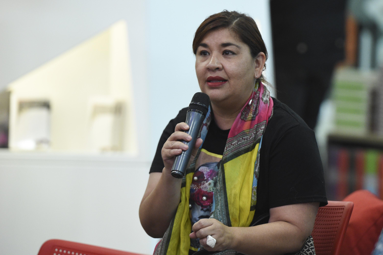 Una de las asistentes hablo de Juan Jose Arreola