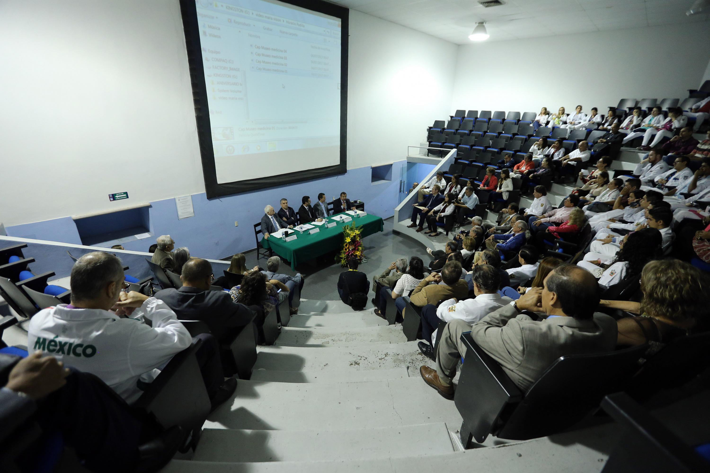 En un auditorio del Antiguo Hospital Civil se realizó la ceremonia