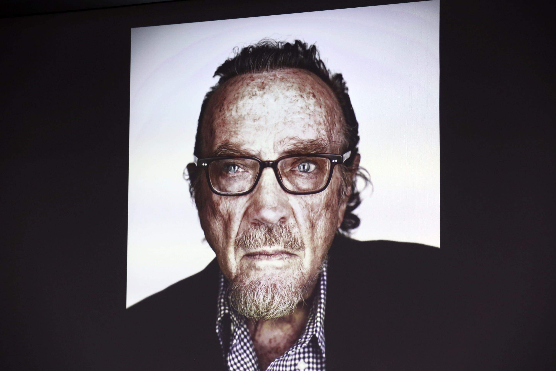 Retrato de un hombre mayor autoría de Jean Berard