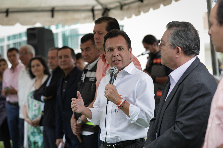 Presidente Municipal de Zapopan, licenciado Pablo Lemus Navarro