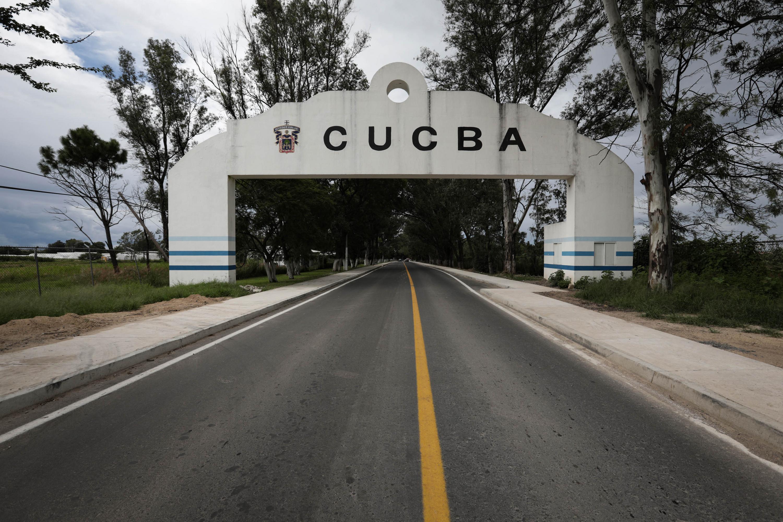 Entrada principal al Centro Universitario de Ciencias Biológicas y Agropecuarias (CUCBA), de la Universidad de Guadalajara (UdeG)