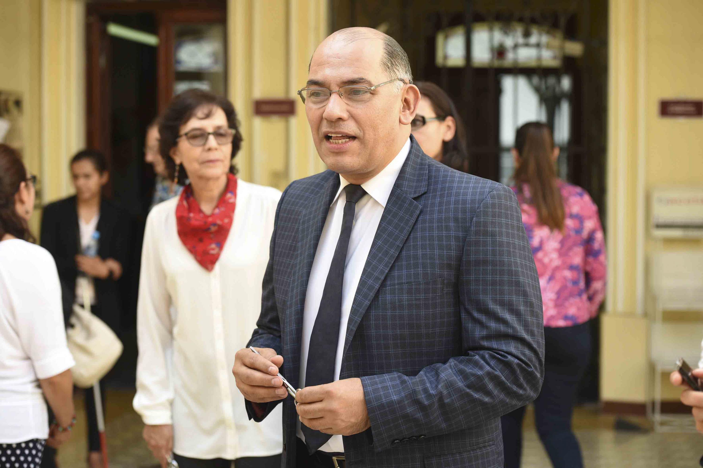 El doctor Sergio Lopez Ruelas estuvo presente en la ceremonia de inauguracion
