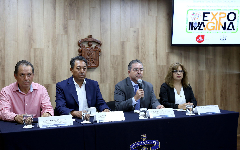 El rector de CUCBA habla de las actividades de EXPO IMAGINA