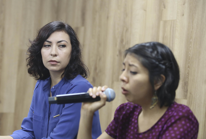Nayeli Quiñonez anuncio a la prensa la agenda de la Muestra