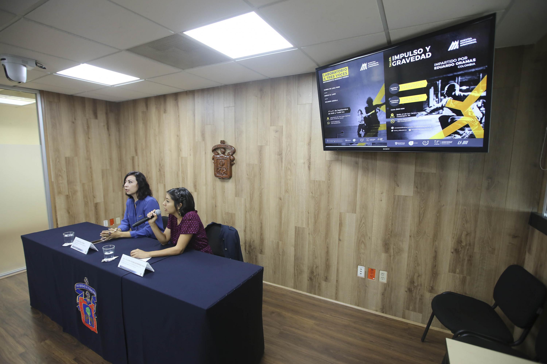 las organizadoras de la Muestra audiovisual invitaron a la comunidad a asistir al evento