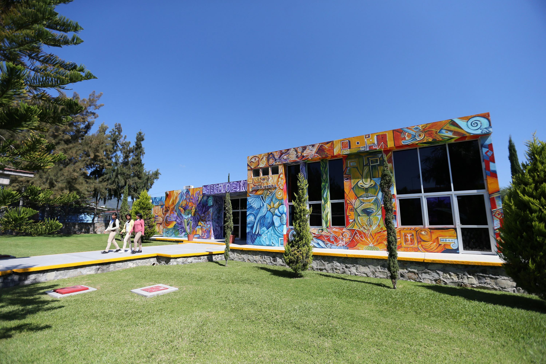 Biblioteca de la Escuela Preparatoria Regional de Chapala.