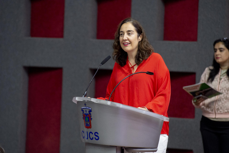 la Coordinadora de Investigación del Centro Universitario de Ciencias de la Salud (CUCS), de la UdeG, doctora Bárbara Vizmanos Lamotte