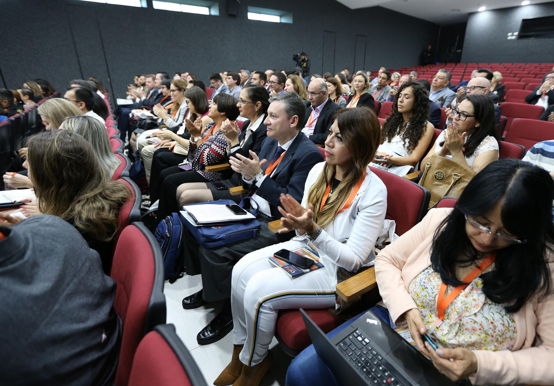 El auditorio con más de 250 participantes provenientes de ocho países
