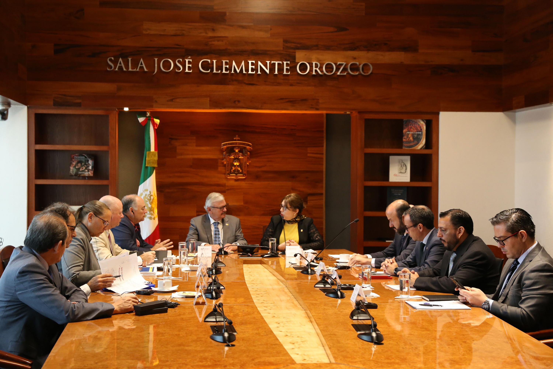Firma de convenio entre la Universidad de Guadalajara y la Universidad de Nuevo México Tech (Instituto de Minería y Tecnología de Nuevo México)