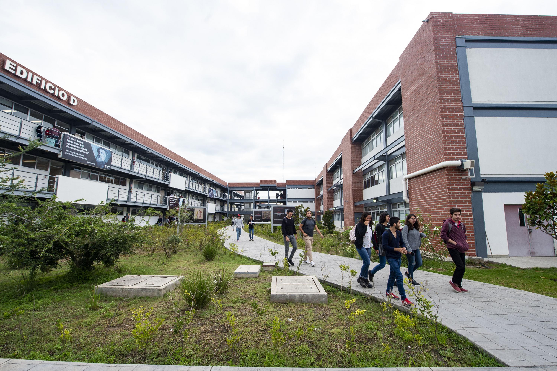 Areas verdes del Centro Universitario de Tonalá (CUTonalá), de la Universidad de Guadalajara (UdeG