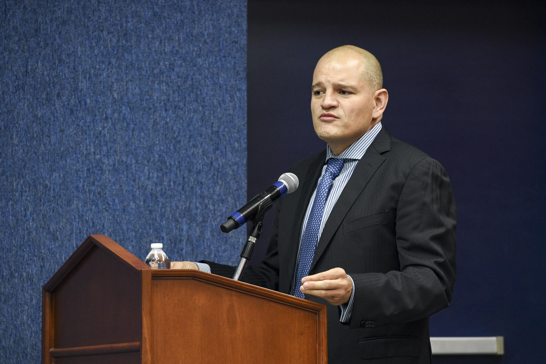 Presidente de la Asociación Mexicana de Estadística, doctor Ramsés Mena Chávez
